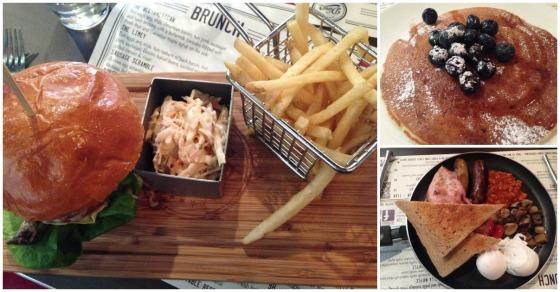 Diner Collage