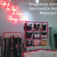 Pregnancy cravings: maternity jeans at Mayarya