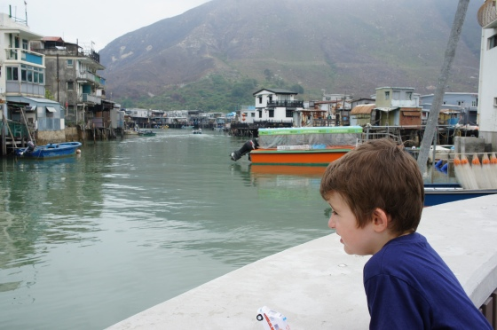 Accidental Tai-Tai Tai O with kids