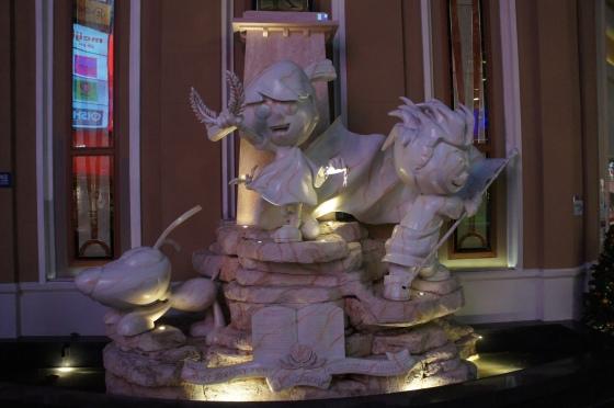 Kidzania statue