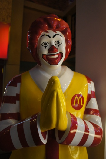 Kidzania Bangkok McDonalds