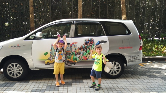 Legoland car transfer