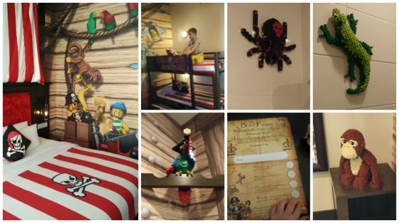 Legoland Malaysia Pirate Room Collage