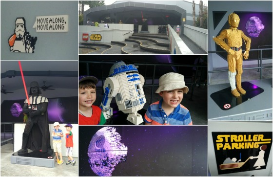 Legoland Malaysia Star Wars Collage