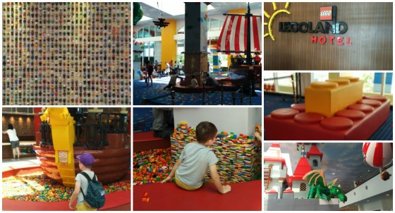 Legoland Reception Collage