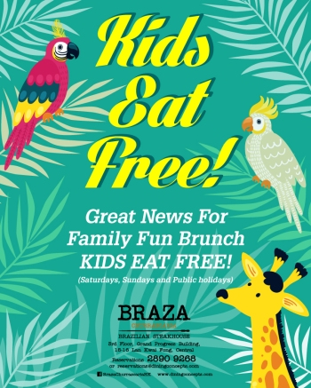 Braza Kids Eat Free