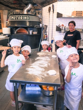 Motorino Pizza kids parties