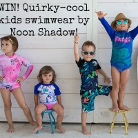 Win awesome kids swimwear from Noon Shadow, plus reader discount code!