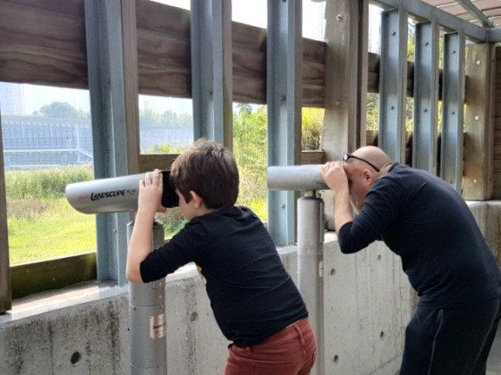 Hong Kong Wetland Park binoculars