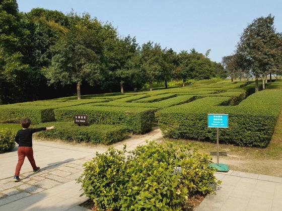 Hong Kong Wetland Park maze