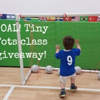 GIVEAWAY CLOSED! We're kicking goals with FREE Tiny Tots football classes up for grabs!